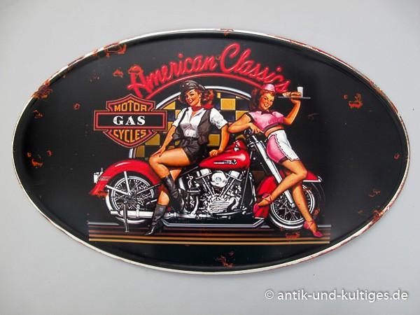 Blechschild American Classics - Pin Up Girls