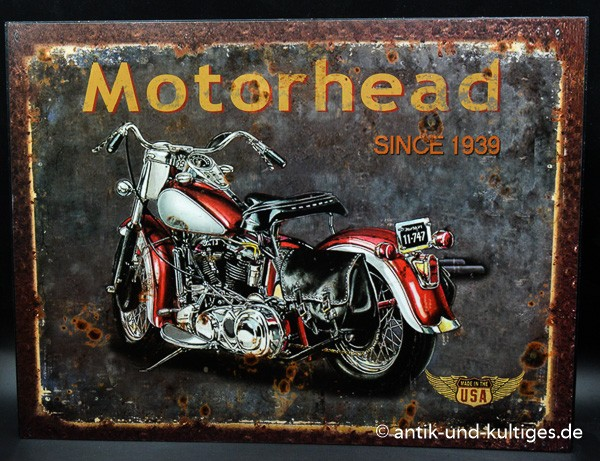 Blechschild Motorhead