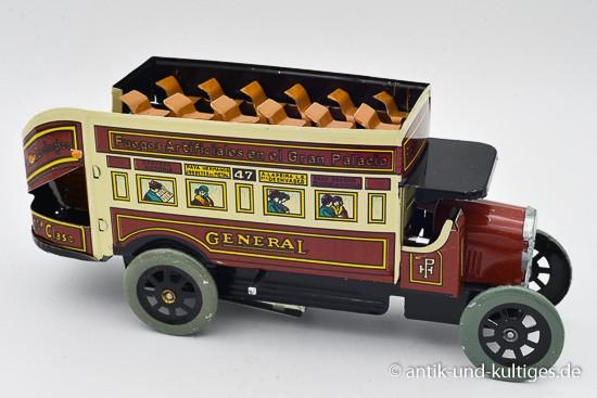 Doppeldeckerbus - Blechspielzeug