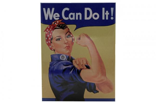 Kühlschrankmagnet We can do it