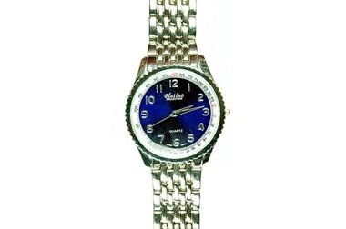 Platino Herrenarmbanduhr, blaues Ziffernb., Quartz