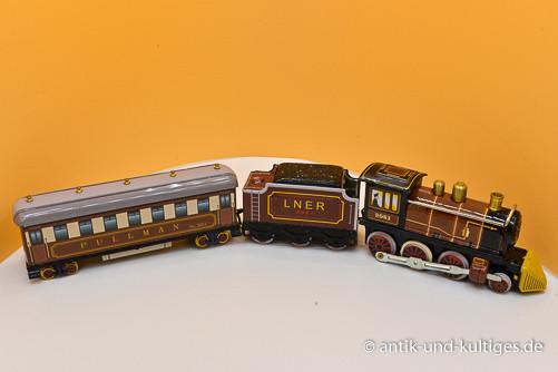 Eisenbahn Line 2081 - Blechspielzeug - 3 teilig