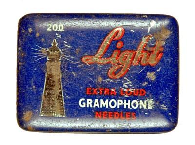 Light Extra Loud, alte Grammophon Nadeldose