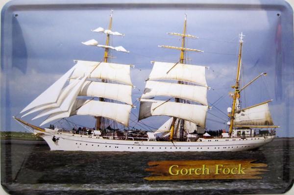 Blechschild Gorch Fock