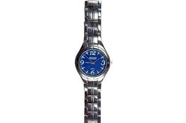 Aquamar Herrenarmbanduhr mit blauem Ziffernblatt