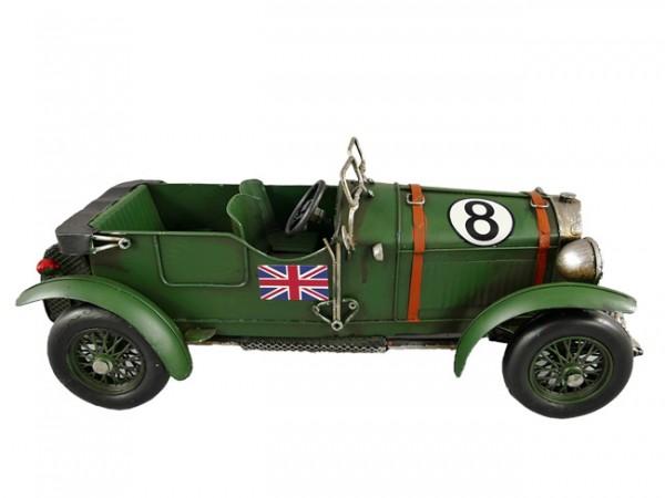 Cabrio grün Blechauto Blechmodell