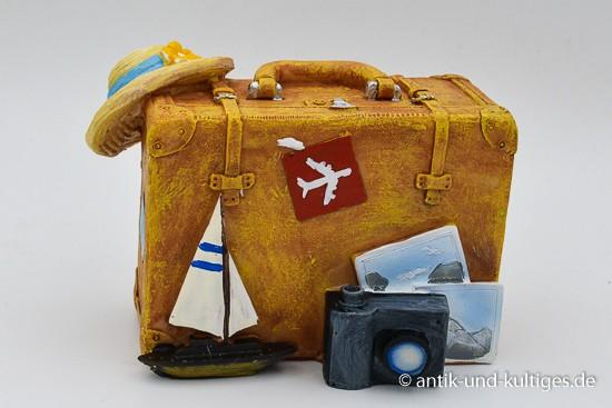 Spardose Koffer