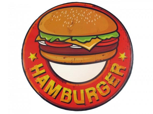 Blechschild Hamburger