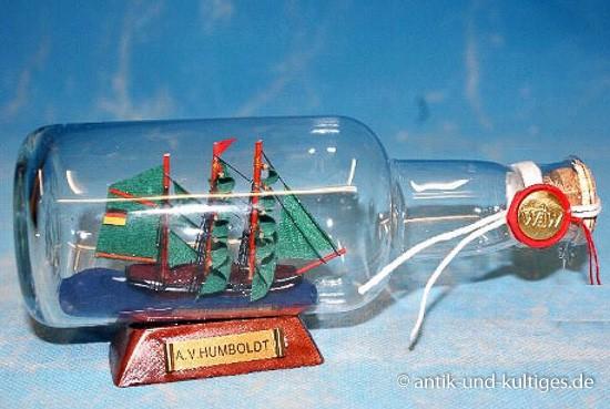 Buddelschiff Alexander von Humboldt