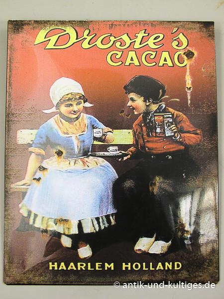 Blechschild Droste´s Cacao