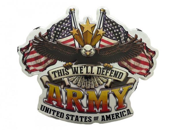 Blechschild US Army Adler