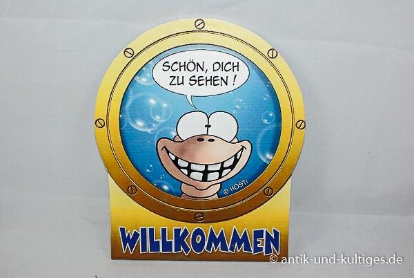 Hösti Schild Willkommen - Türschild