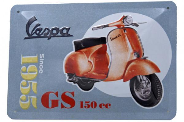 Blechschild Vespa GS150