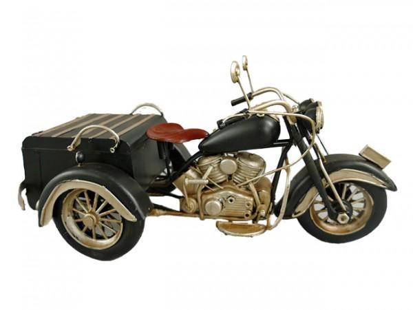 Trike Motorrad Blechmodell 30 cm