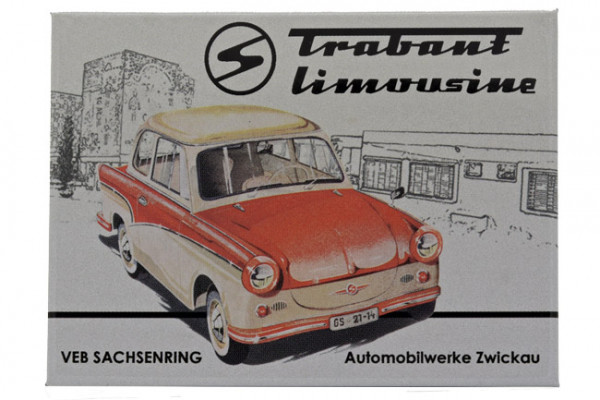 Kühlschrankmagnet Trabant Limousine