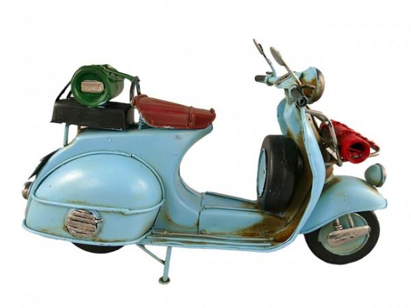 Scooter Motorroller Vespa Blechmodell 28 cm
