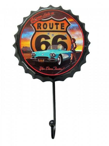 Wandhaken Route 66
