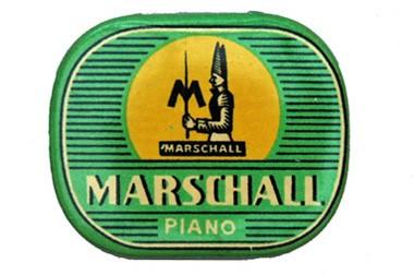 Marschall Piano, alte Grammohon Nadeldose
