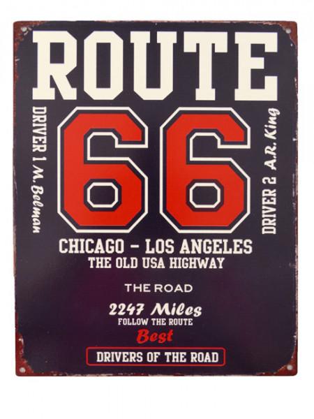 Blechschild Route 66 - A38