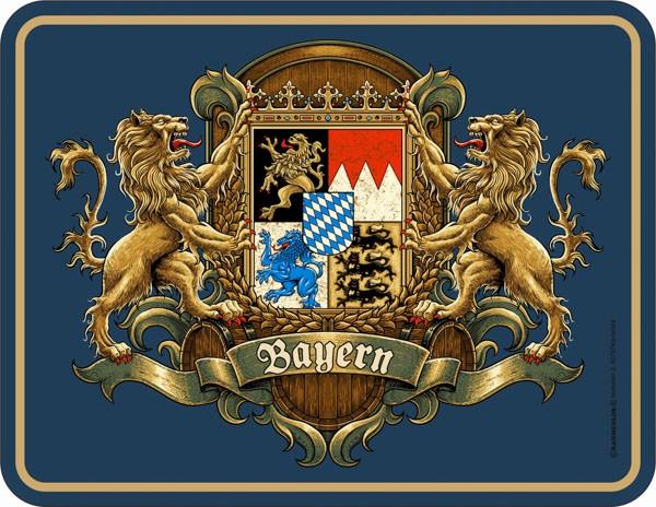 Blechschild Bayern - RAHMENLOS® 3947