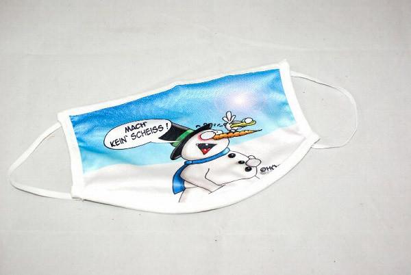 Schnutenpulli Mach kein Scheiss Hösti Alltagsmaske