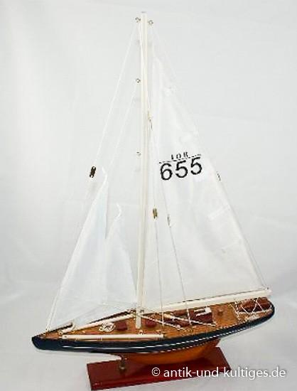 Schiffsmodell Segelboot - Holz
