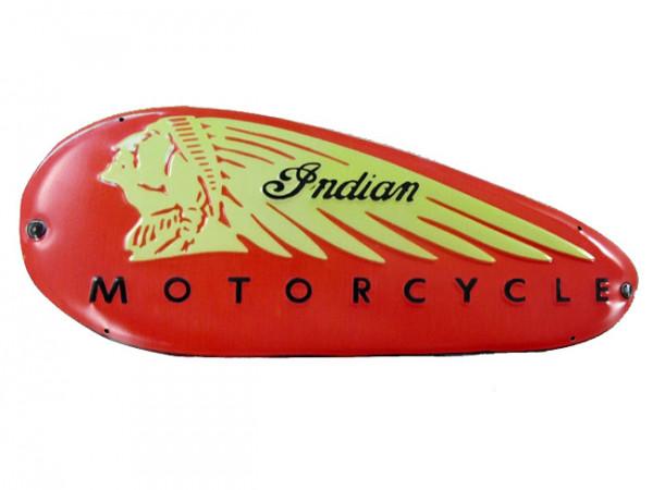Blechschild Indian Motorcycle