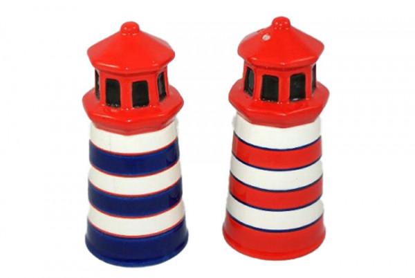 Salz und Pfeffer Streuer Set Leuchtturm