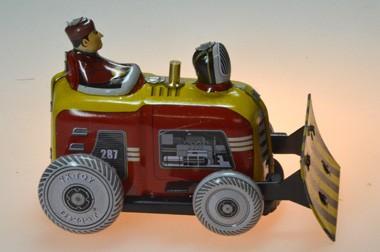 Bulldozer - Blechspielzeug